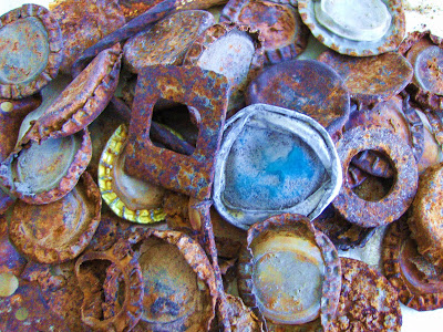 Image result for rusty bottle cap photos